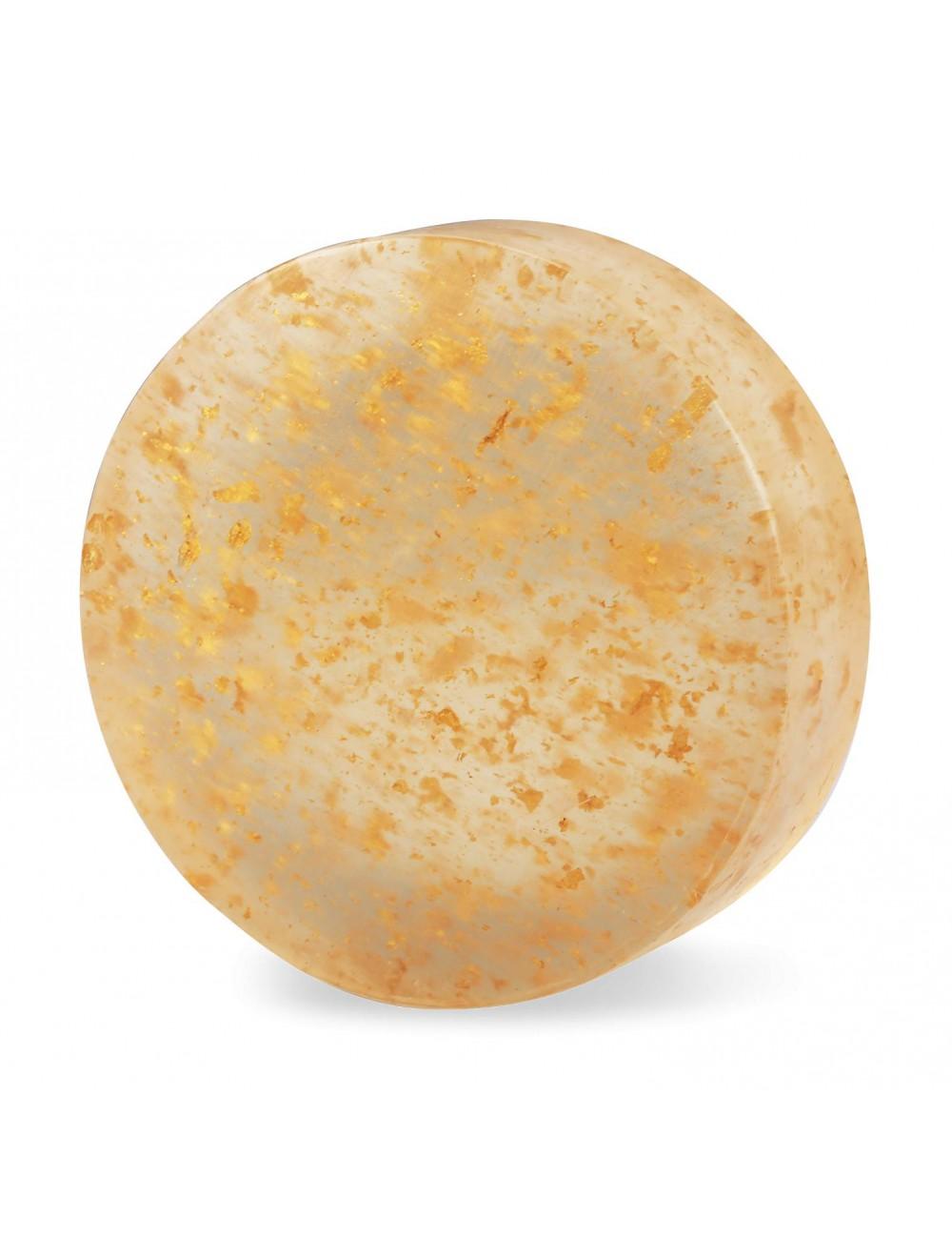 SASSOU 金箔潔膚美顏石鹼 100g