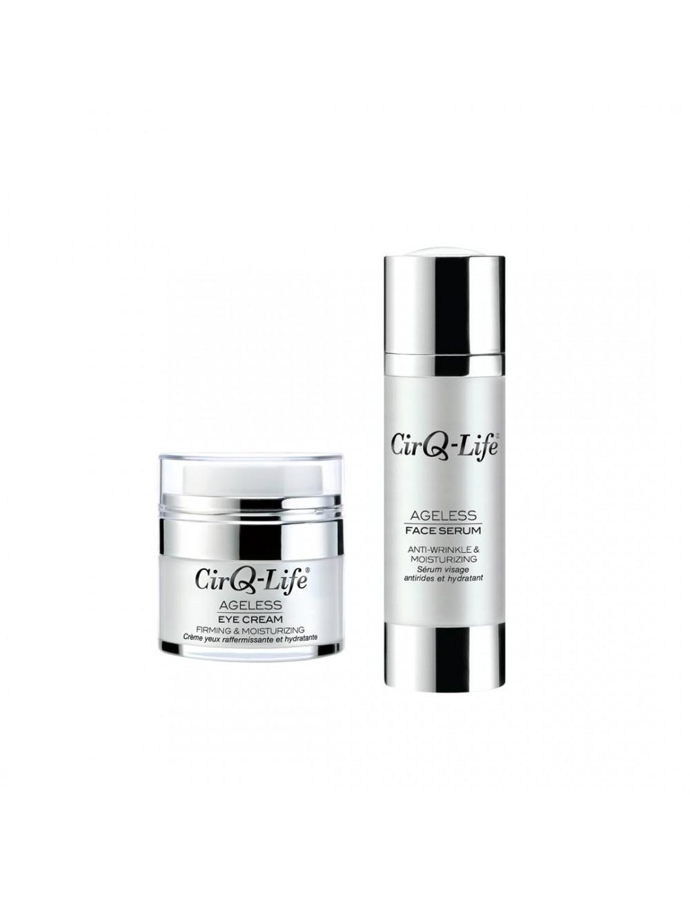 CirQ-Life Eye Cream + Face Serum Bundle