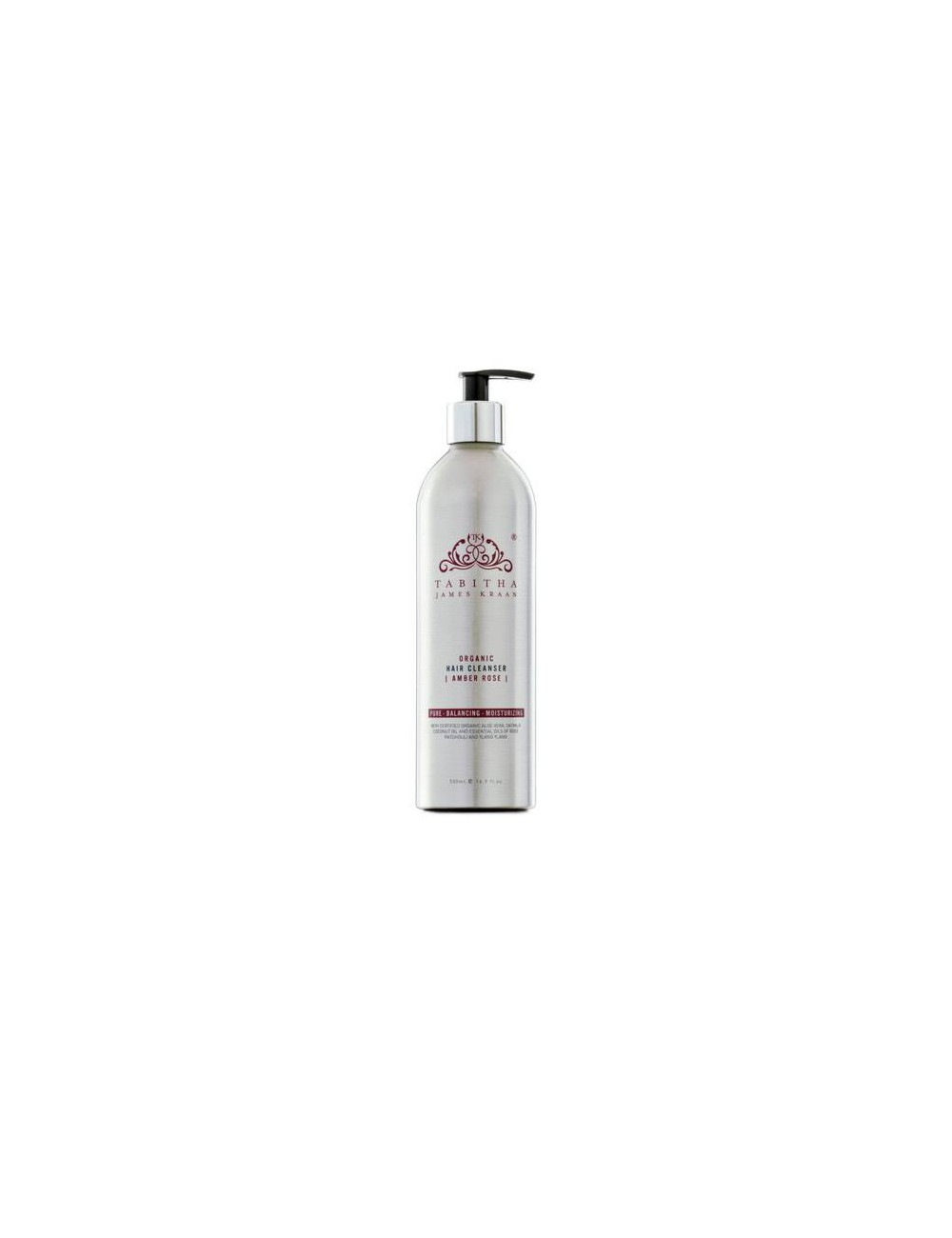 TJK Lagre Size Amber Rose Hair Cleanser 500ml