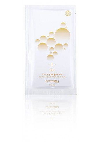 SASSOU JAPAN Gold H2-Aqua Illuminating Mask