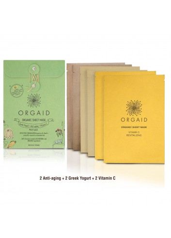 ORGAID 綜合有機⾯膜 6⽚