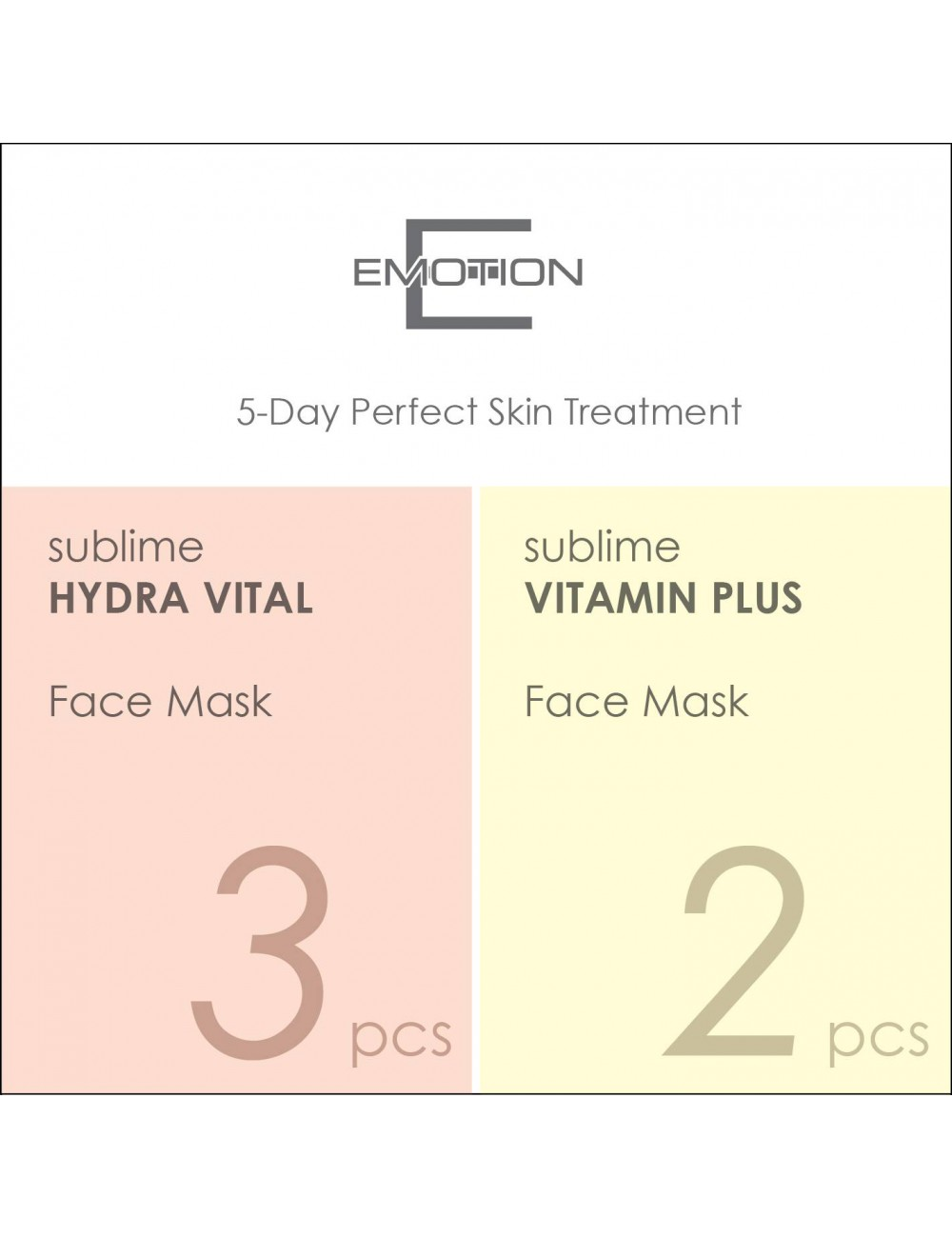 Emotion 5-Day Perfect Skin Treatment Mask (5 pcs)