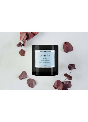 Peekaboo Essential Oil Blend Soy Wax Massage Candle