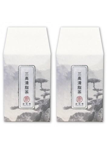 康和樂 三高清脂茶 80g x 2 (兩盒裝)