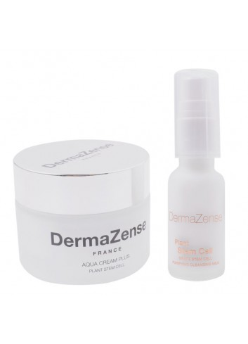 DermaZense Grape Stem Cell Cream and Cleansing Combo