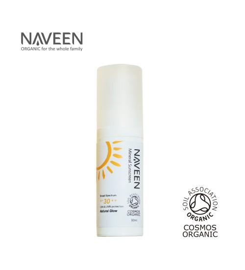 NAVEEN Mineral Sunscreen Broad Spectrum SPF30 30ml