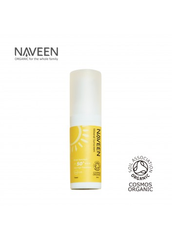 NAVEEN Mineral Sunscreen Broad Spectrum SPF50+ 30ml