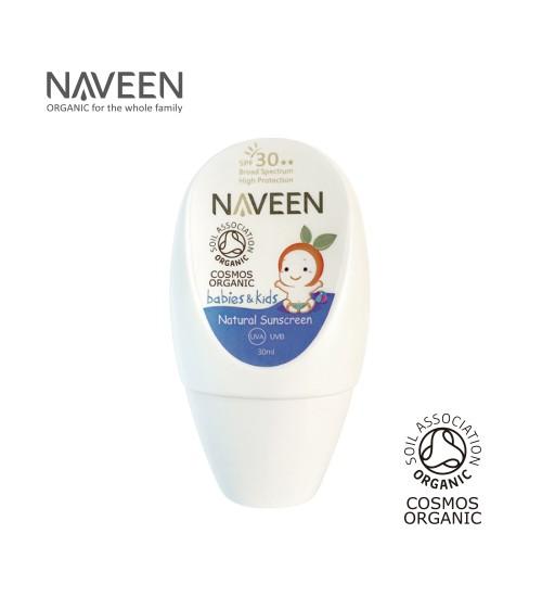 NAVEEN Natural Sunscreen for Babies & Kids SPF30 30ml