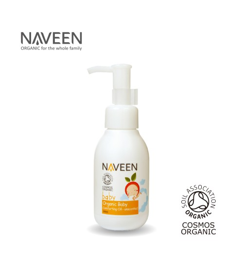 NAVEEN Organic Baby Comforting Oil Unscented 100ml