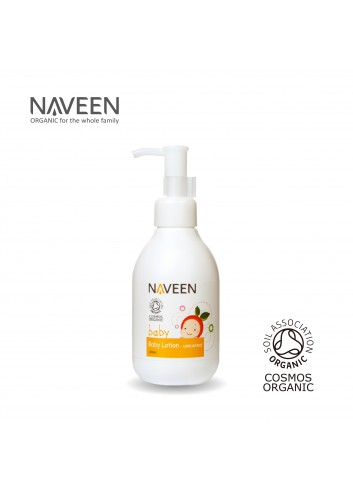 NAVEEN Baby Lotion Unscented 200ml