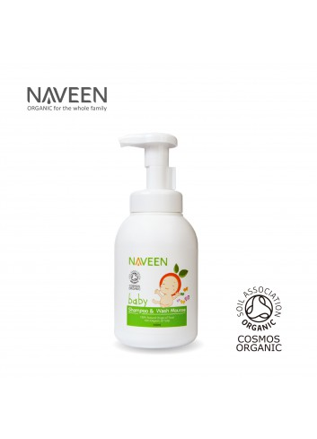 NAVEEN Baby Shampoo & Wash Mousse 400ml