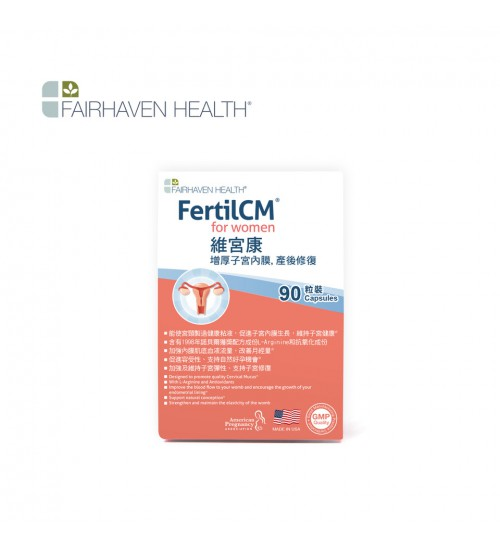 FAIRHAVEN HEALTH FertilCM for Women 90 Capsules