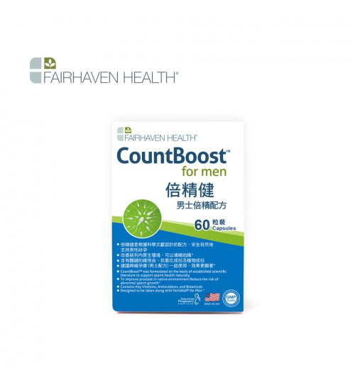 FAIRHAVEN HEALTH CountBoost for Men 60 Capsules