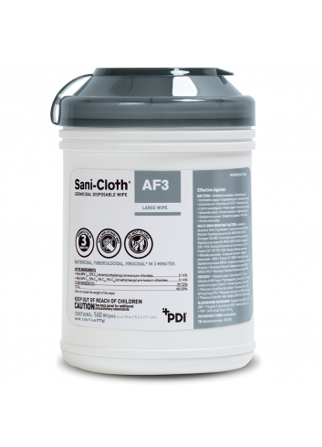 PDI AF3專業消毒濕紙巾 (160片)