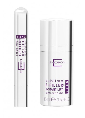 Emotion E-Filler® Instant Lift Eye Serum 15ml (Get E-Filler® Eye Contour Roller 15ml for Free)