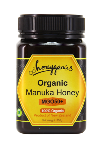 Honeyganics 有機麥盧卡蜂蜜 MGO50+ 500g