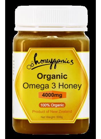 Honeyganics 有機歐米加3蜂蜜 500g