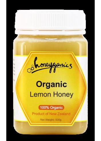Honeyganics Organic Lemon Honey 500g