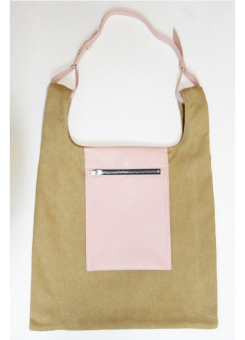 Peekaboo Canvas Bag