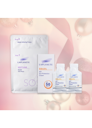 LAPLANETE Mother's Day Facial Care Set (Sun Protection Cream)