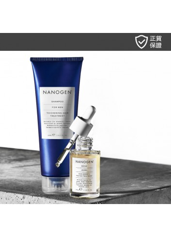 NANOGEN Hair Growth Factor Treatment Value Set for Men (Deep Cleansing Results)