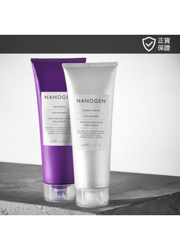 NANOGEN Thickening Treatment Value Set for Women (Deep Cleansing Results)