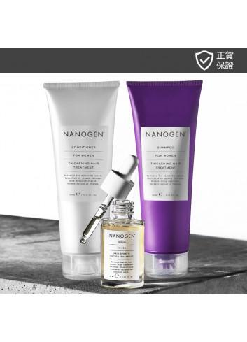 NANOGEN Hair Growth Factor Treatment Value Set for Women (Deep Cleansing Results)