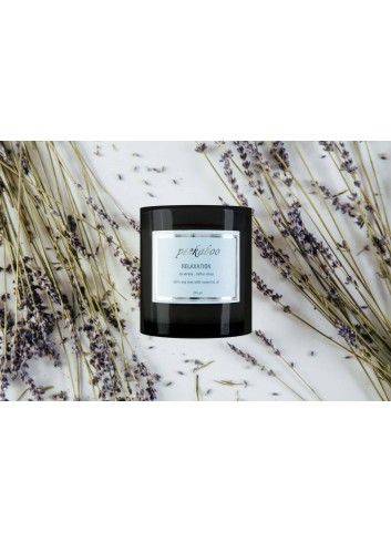 Soy Wax Candle with Essential Oil Blend