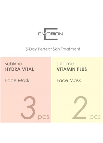 Emotion 5-Day Perfect Skin Treatment Mask (5 pcs)