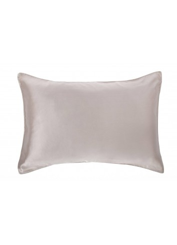 Peekaboo Silk Pillow Case  (Grey)
