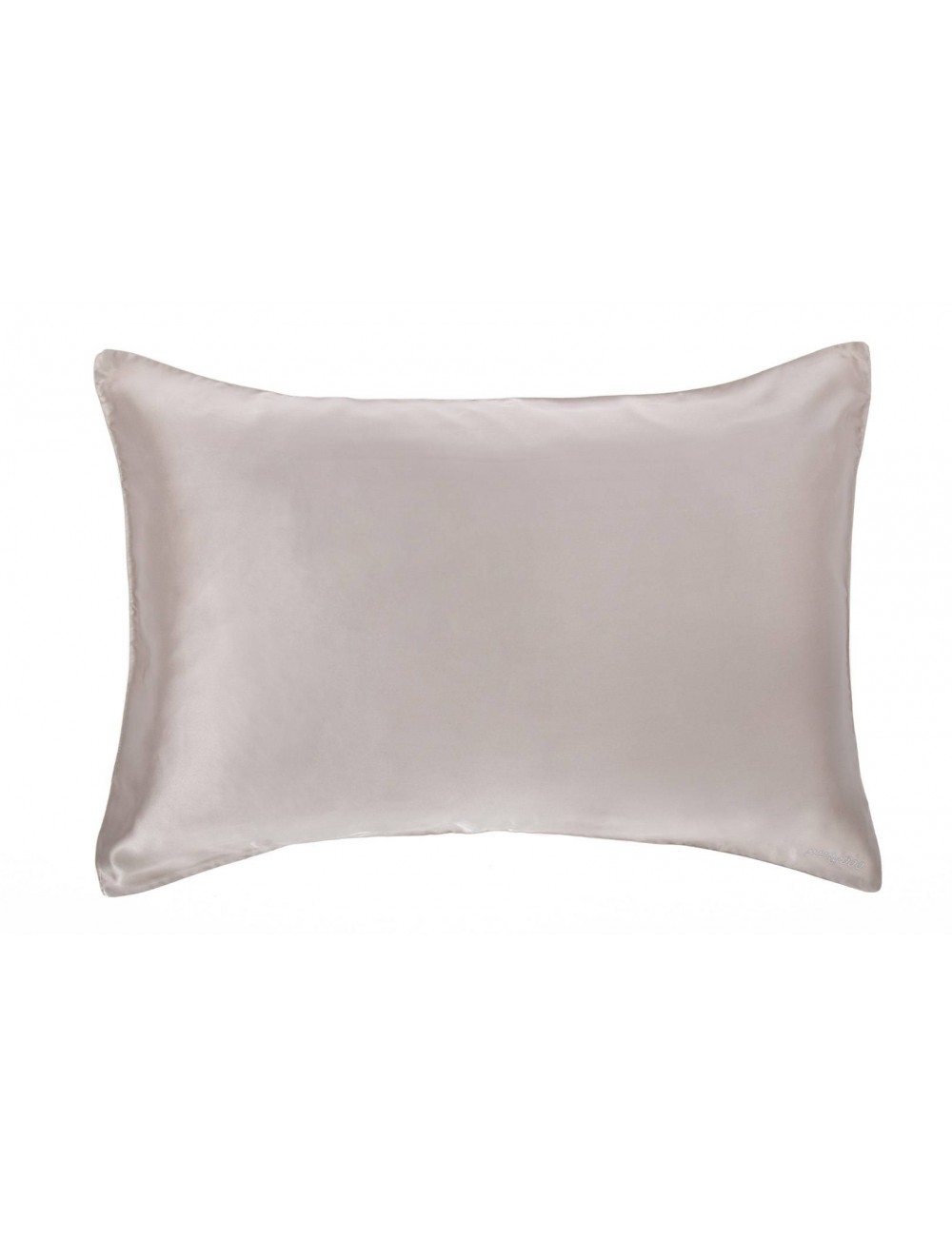 PEEKABOO 絲綢枕頭套 (灰色)