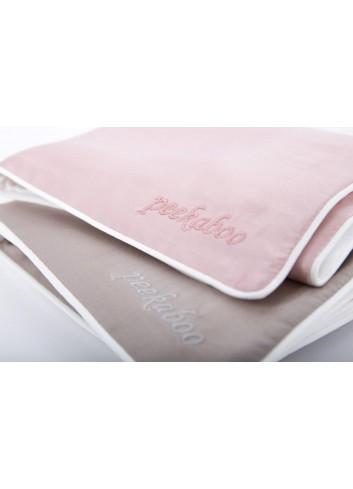 Peekaboo Silk Pillow Case  (Grey)