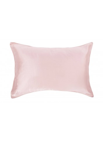 Peekaboo Silk Pillow Case  (Pink)